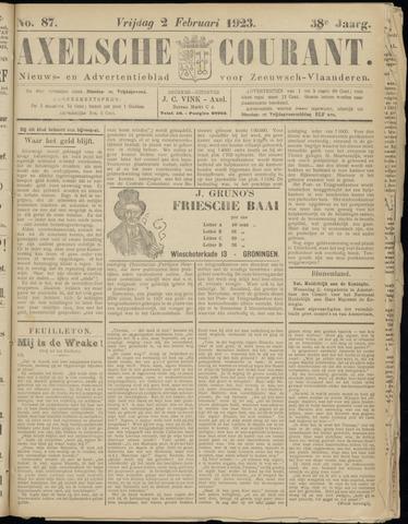 Axelsche Courant 1923-02-02