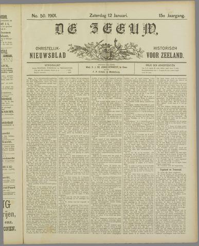 De Zeeuw. Christelijk-historisch nieuwsblad voor Zeeland 1901-01-12