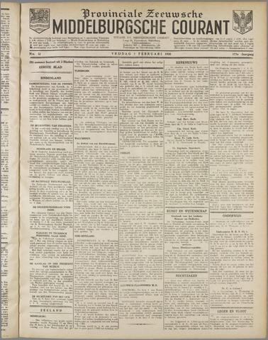 Middelburgsche Courant 1930-02-07