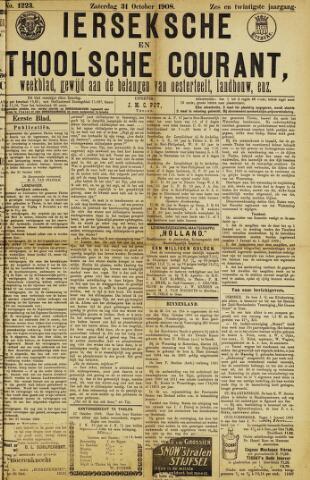 Ierseksche en Thoolsche Courant 1908-10-31