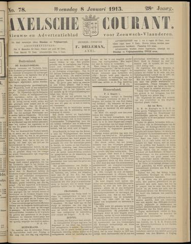 Axelsche Courant 1913-01-08