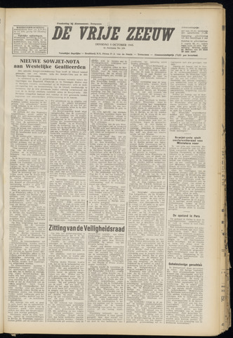 de Vrije Zeeuw 1948-10-05