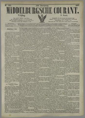 Middelburgsche Courant 1891-06-05