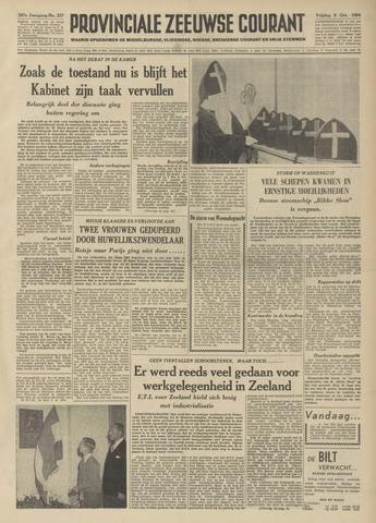Provinciale Zeeuwse Courant 1954-10-08