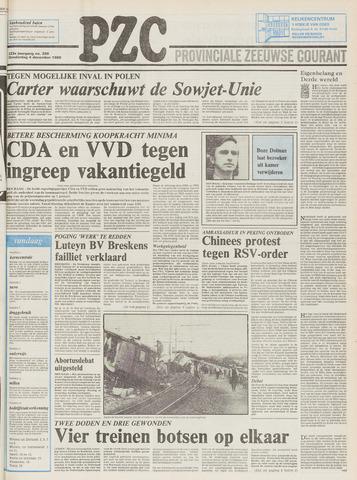 Provinciale Zeeuwse Courant 1980-12-04