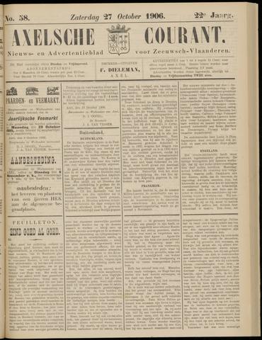 Axelsche Courant 1906-10-27