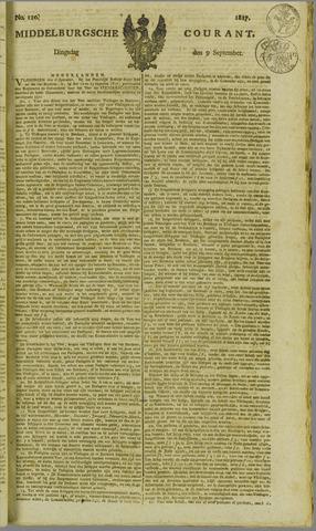 Middelburgsche Courant 1817-09-09