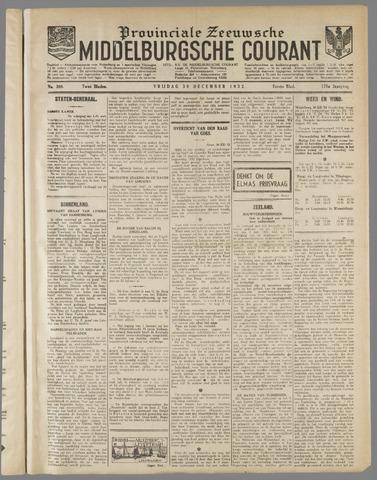 Middelburgsche Courant 1932-12-30