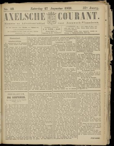 Axelsche Courant 1921-08-27