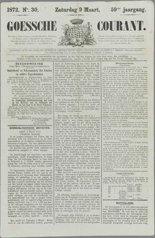 Goessche Courant 1872-03-09