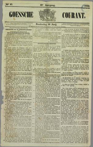 Goessche Courant 1862-06-19