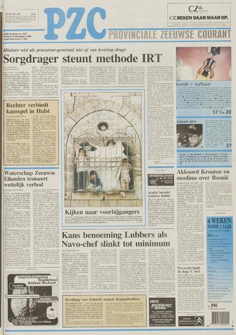 Provinciale Zeeuwse Courant 1995-11-10