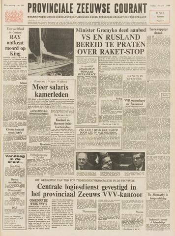 Provinciale Zeeuwse Courant 1968-06-28