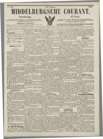 Middelburgsche Courant 1901-06-27