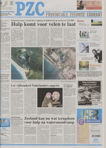 Provinciale Zeeuwse Courant 2004-12-31