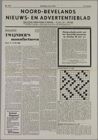 Noord-Bevelands Nieuws- en advertentieblad 1984-06-14