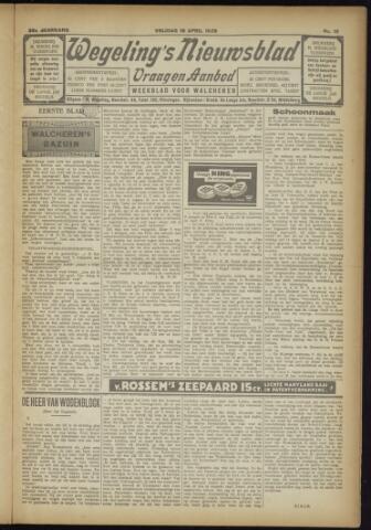 Zeeuwsch Nieuwsblad/Wegeling's Nieuwsblad 1929-04-19
