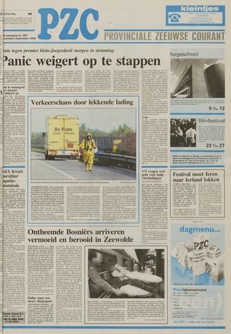 Provinciale Zeeuwse Courant 1992-09-02