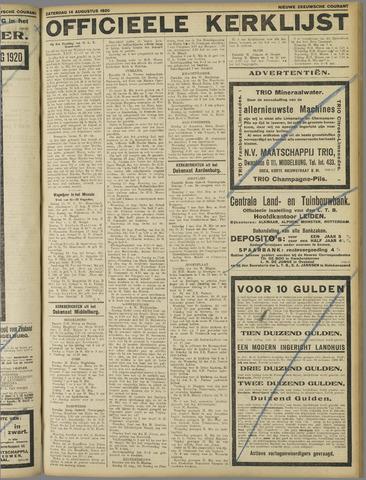 Nieuwe Zeeuwsche Courant 1920-08-16
