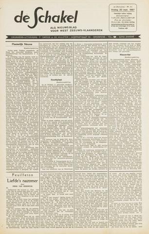 De Schakel 1957-09-20