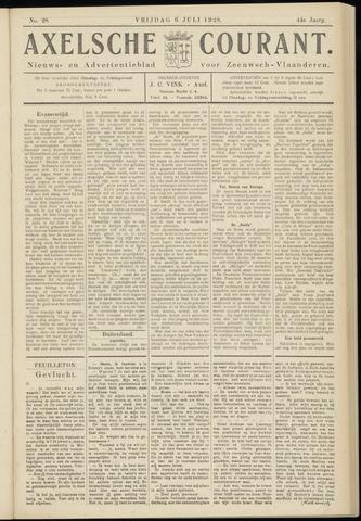 Axelsche Courant 1928-07-06