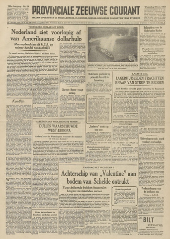 Provinciale Zeeuwse Courant 1953-01-28