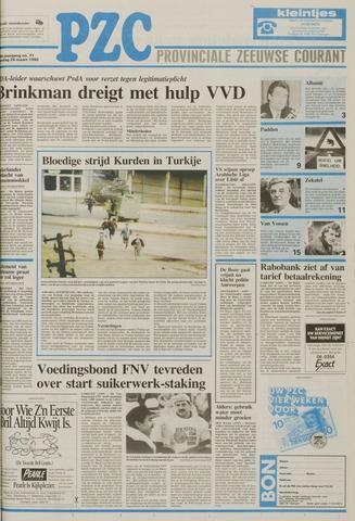 Provinciale Zeeuwse Courant 1992-03-24