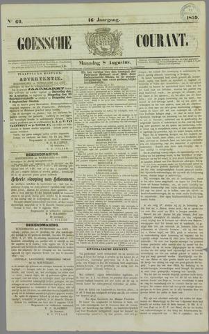 Goessche Courant 1859-08-08