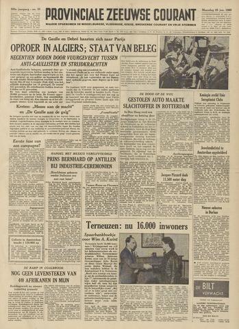 Provinciale Zeeuwse Courant 1960-01-25