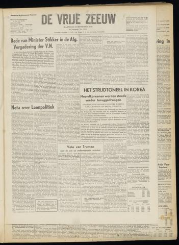 de Vrije Zeeuw 1950-09-25