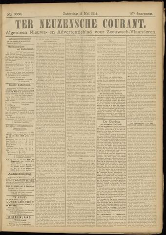 Ter Neuzensche Courant. Algemeen Nieuws- en Advertentieblad voor Zeeuwsch-Vlaanderen / Neuzensche Courant ... (idem) / (Algemeen) nieuws en advertentieblad voor Zeeuwsch-Vlaanderen 1918-05-11