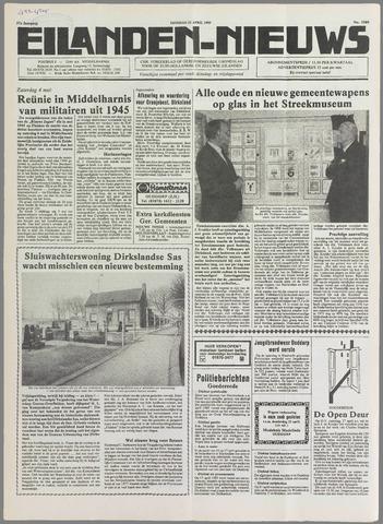 Eilanden-nieuws. Christelijk streekblad op gereformeerde grondslag 1985-04-23