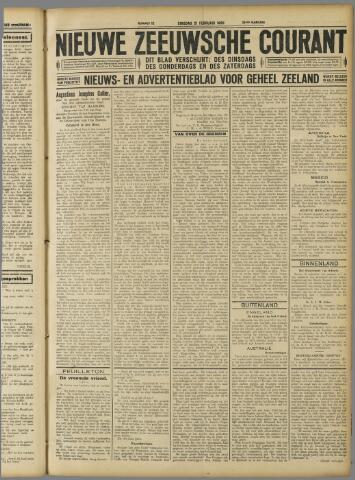 Nieuwe Zeeuwsche Courant 1928-02-21