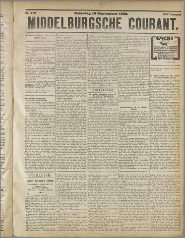 Middelburgsche Courant 1922-09-16