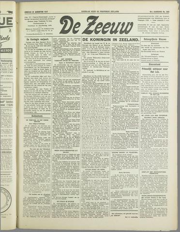 De Zeeuw. Christelijk-historisch nieuwsblad voor Zeeland 1937-08-31
