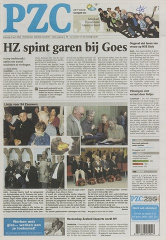 Provinciale Zeeuwse Courant 2008-04-26