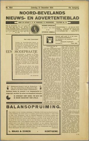 Noord-Bevelands Nieuws- en advertentieblad 1934-12-22