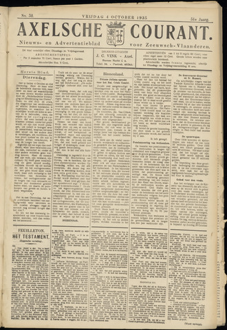 Axelsche Courant 1935-10-04