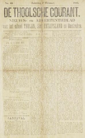 Ierseksche en Thoolsche Courant 1885-02-07