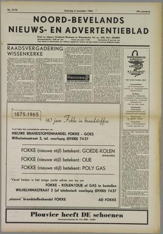 Noord-Bevelands Nieuws- en advertentieblad 1965-11-06