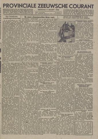 Provinciale Zeeuwse Courant 1943-03-09