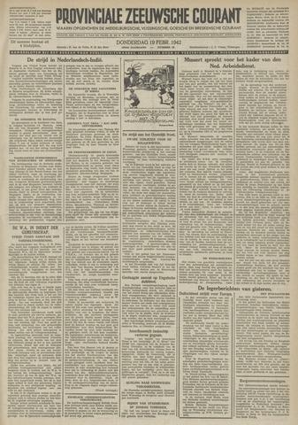 Provinciale Zeeuwse Courant 1942-02-19
