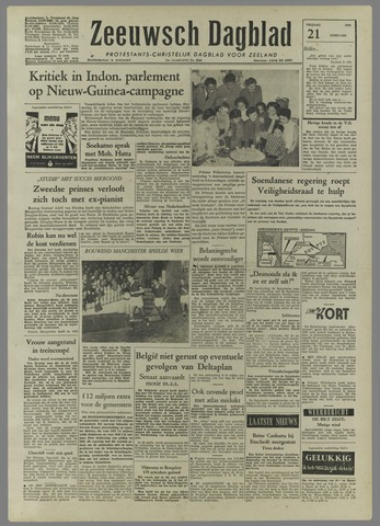 Zeeuwsch Dagblad 1958-02-21