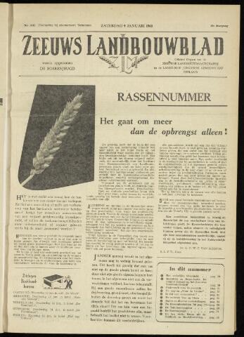 Zeeuwsch landbouwblad ... ZLM land- en tuinbouwblad 1960-01-09