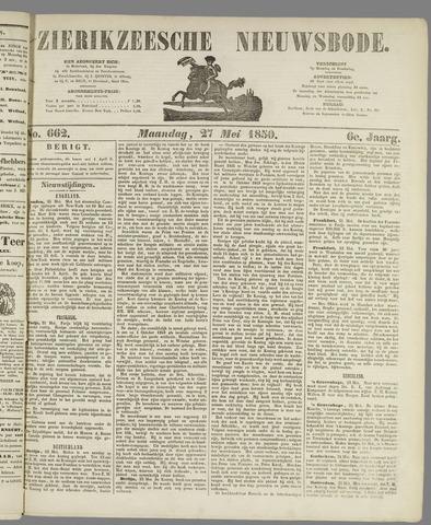 Zierikzeesche Nieuwsbode 1850-05-27