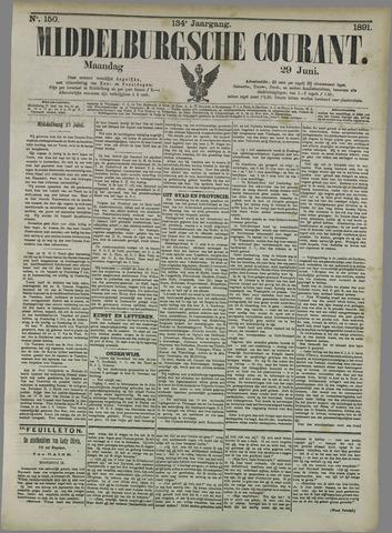 Middelburgsche Courant 1891-06-29