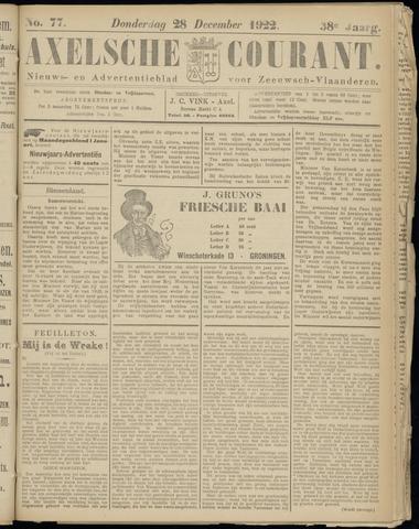 Axelsche Courant 1922-12-28