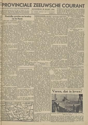 Provinciale Zeeuwse Courant 1944-03-30