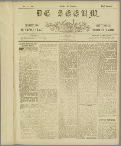 De Zeeuw. Christelijk-historisch nieuwsblad voor Zeeland 1895-11-30