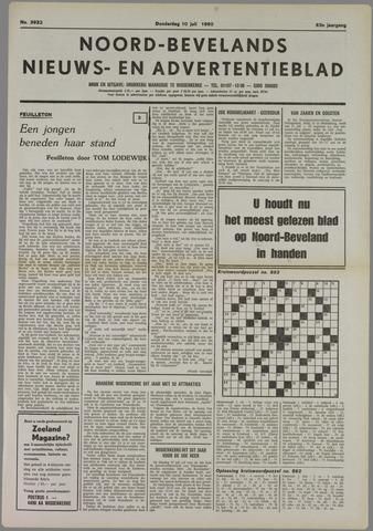 Noord-Bevelands Nieuws- en advertentieblad 1980-07-10